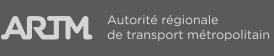 Autorité régionale de transport métropolitain's website