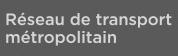 Réseau de transport métropolitain's website